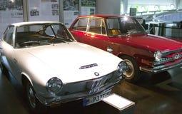 MUNICH, ALLEMAGNE - 1ER JUIN 2012 : voiture de vintage de collection à l'exposition du musée de BMW Photo libre de droits