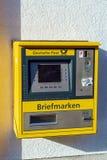 Munich, Allemagne - 20 octobre 2017 : Machine de rue en vente Images stock