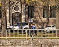Munich, aptitud en ciudad Fotografía de archivo