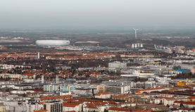 Munich with arena Stock Photo