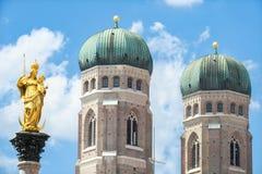 Munich bakgrund Arkivbild