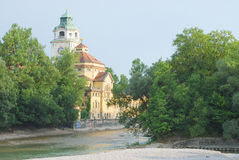 Munich Bathhouse Royalty Free Stock Photos