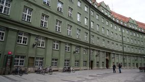 munich, bavaria, karlsplatz, carls gate stock photography