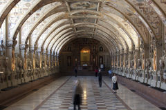 MUNICH - BAVARIAN CAPITAL. PHOTO CAPTION - Interior of Residenz of Bavarian king Ludwig Stock Images