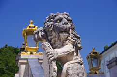 Munich bavarian lion Royalty Free Stock Photography