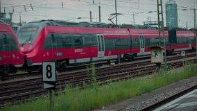 Munich Bavière, Allemagne, l'Europe - 2 juillet Transport en commun 2018 ferroviaire banque de vidéos