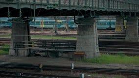 Munich Bavière, Allemagne, l'Europe - 2 juillet Transport en commun 2018 ferroviaire clips vidéos