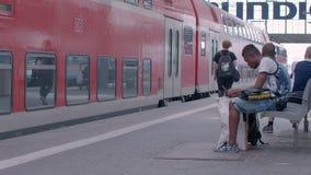 MUNICH, BAVIERA ALEMANIA - 1 DE JUNIO DE 2018 almacen de metraje de vídeo