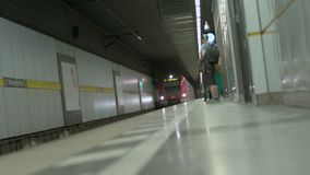 Munich Baviera, Alemania, Europa - 2 de julio Transporte público ferroviario 2018