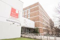 Munich blood donation center Royalty Free Stock Photo