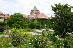 Munich botanical garden Royalty Free Stock Photos