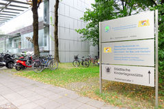 Munich building and consumer protection authority Royalty Free Stock Images