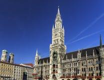 Munich Marienplatz, City Center Royalty Free Stock Photo