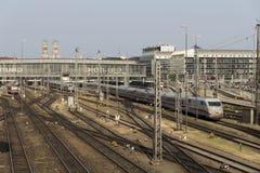 Munich central railway station, 2015 Stock Photo