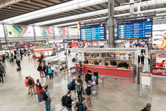 Munich central station Royalty Free Stock Image