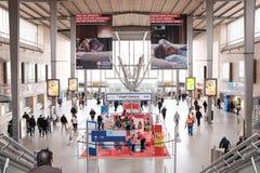 Munich centralstationingång Arkivbilder