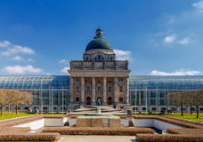 Munich Chancery Hofgarten. The building of the Bavarian Chancery Hofgarten in Munich. Bavaria royalty free stock image