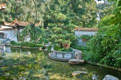Munich - chinese garden. Chinese garden in the westpark, munich, germany Royalty Free Stock Photos