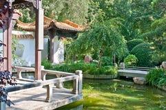 Munich - chinese garden. Chinese garden in the westpark, munich, germany The garden was part of the international garden exhibition in munich, 1983 Stock Images