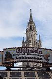 Munich christmas market Stock Photography