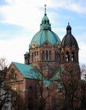 Munich Church. A church seen in Munich Royalty Free Stock Photos