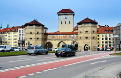 Munich City Gate Royalty Free Stock Image