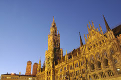 Munich City Hall Royalty Free Stock Photo