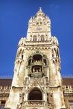 Munich city hall Stock Image