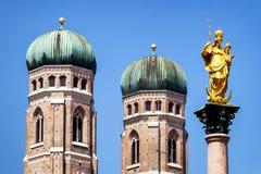 Munich city hall Stock Photography