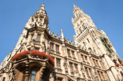 Munich city hall Stock Images