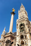Munich city hall Stock Images