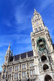 Munich city hall portrait Royalty Free Stock Photo