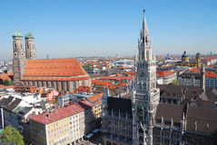 Munich city house Royalty Free Stock Images