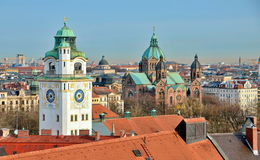 Munich City Scape Stock Image