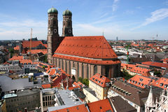 Munich cityscape Royalty Free Stock Photography