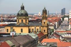 Munich cityscape stock images