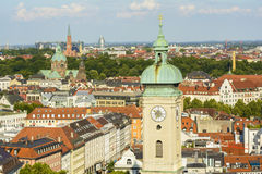 Munich cityscape Royalty Free Stock Photos