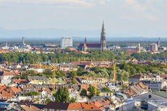 Munich cityscape, Bavaria, Germany Stock Images