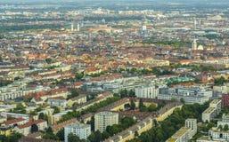 Munich cityscape, Bavaria, Germany Stock Photos
