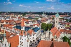 Munich cityscape - Germany Royalty Free Stock Photos