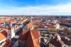 Munich cityscape Stock Photos