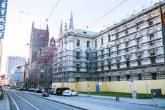 Munich courthouse, on the Karlplatz royalty free stock images
