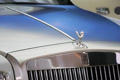 Ornamento da capa de Rolls royce Foto de Stock Royalty Free