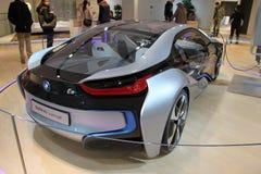 Carro elétrico do conceito de BMW i8 Fotografia de Stock Royalty Free