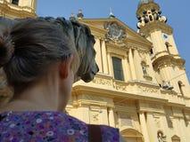 Munich de visita no verão imagem de stock royalty free