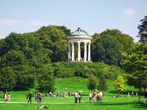 Munich, Englischer Garten Imágenes de archivo libres de regalías