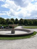 Munich English Gardens Stock Photo