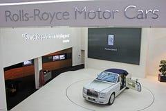 Salle d'exposition de Rolls Royce photographie stock