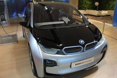 Voiture électrique de concept de BMW i3 image stock