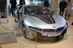 BMW i8 electric concept car Stock Photos